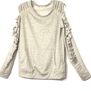 Primary Photo - BRAND:    12PM BY MON AMISTYLE: TOP LONG SLEEVE COLOR: LIGHT GREY SIZE: M OTHER INFO: 12 PM BY MON - SKU: 262-26275-75120