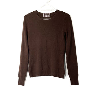 Primary Photo - BRAND: HENRI BENDEL STYLE: SWEATER LIGHTWEIGHT COLOR: BROWN SIZE: XS SKU: 262-26275-74168WOOLSIZE TAG MISSING AS IS