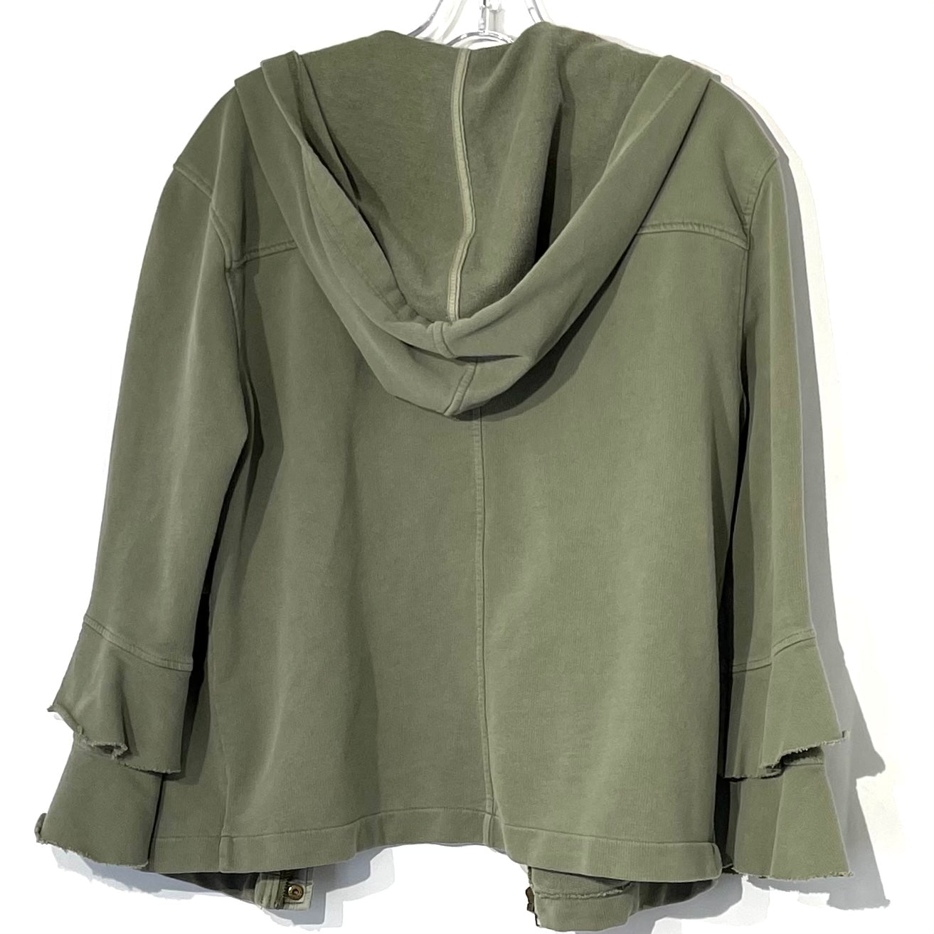 Photo #1 - BRAND: SANCTUARY <BR>STYLE: SWEATER CARDIGAN LIGHTWEIGHT <BR>COLOR: OLIVE <BR>SIZE: S <BR>SKU: 262-26275-74998