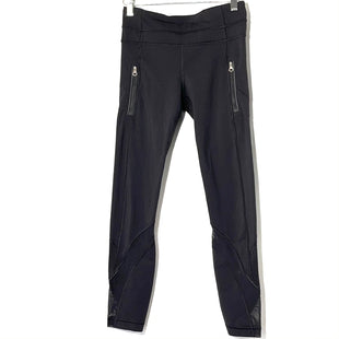 Primary Photo - BRAND: LULULEMON STYLE: ATHLETIC CAPRIS COLOR: BLACK SIZE: 4 SKU: 262-26275-75058DESIGNER FINAL