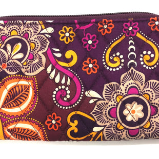 "Primary Photo - BRAND: VERA BRADLEY STYLE: WALLET COLOR: FLORAL SIZE: LARGE SKU: 262-26275-64715APPROX. 8"" X 4.75""."