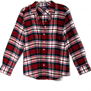 Primary Photo - BRAND: LANDS END STYLE: TOP LONG SLEEVE COLOR: PLAID SIZE: XL /14 PETITESKU: 262-26275-75904