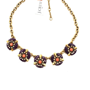 Primary Photo - BRAND:    J CREW OSTYLE: NECKLACECOLOR: PURPLE ORANGE SKU: 262-26298-453AS IS