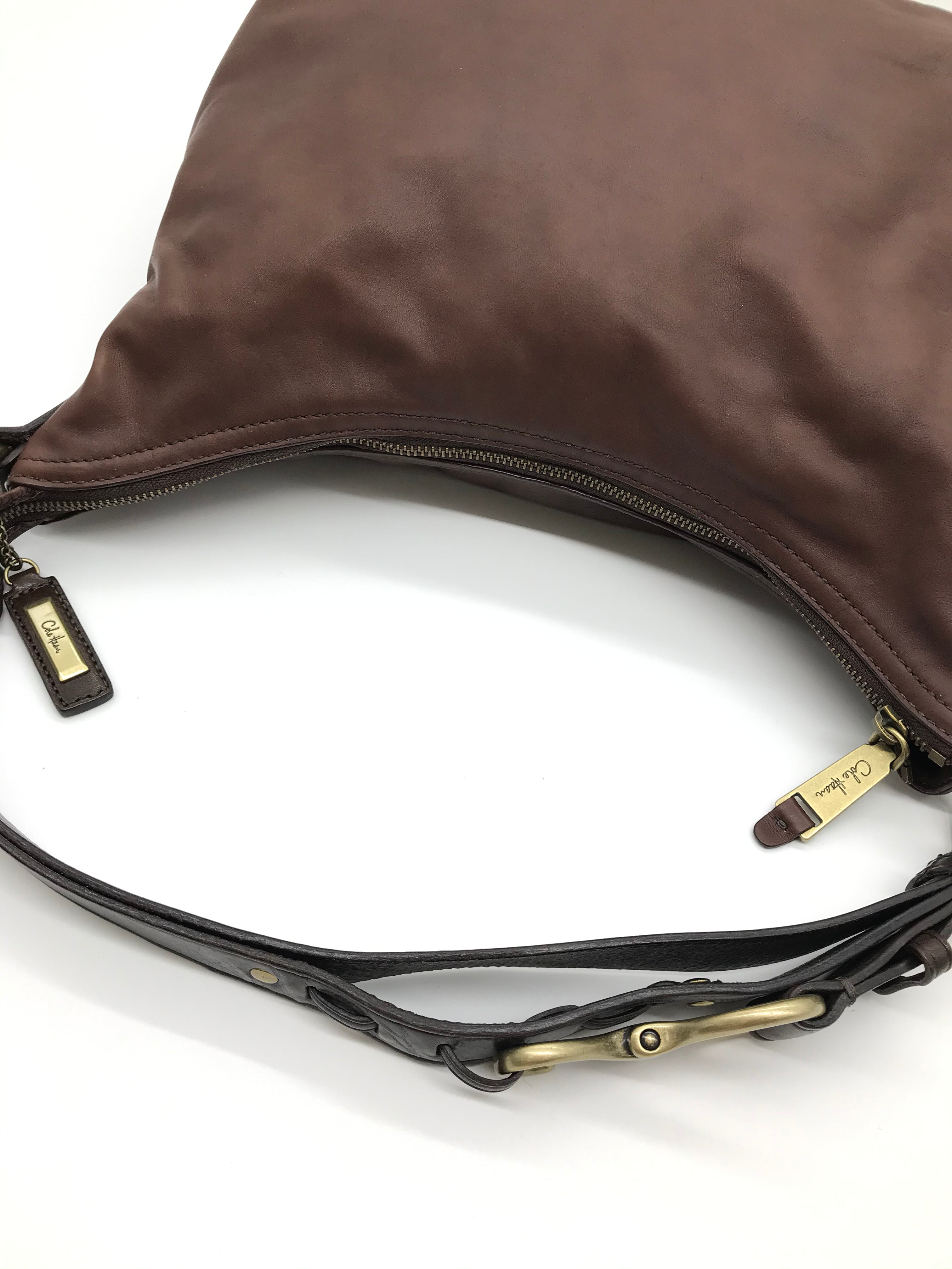 Photo #3 - BRAND: COLE-HAAN <BR>STYLE: HANDBAG <BR>COLOR: BROWN <BR>SIZE: SMALL<BR>SKU: 262-26241-43732<BR>AS IS