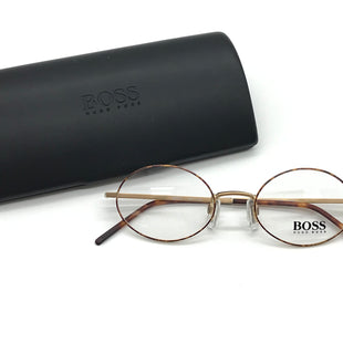 Primary Photo - BRAND: HUGO BOSS STYLE: GLASSES #RXCOLOR: BROWN SKU: 262-26275-72255AS IS #RX