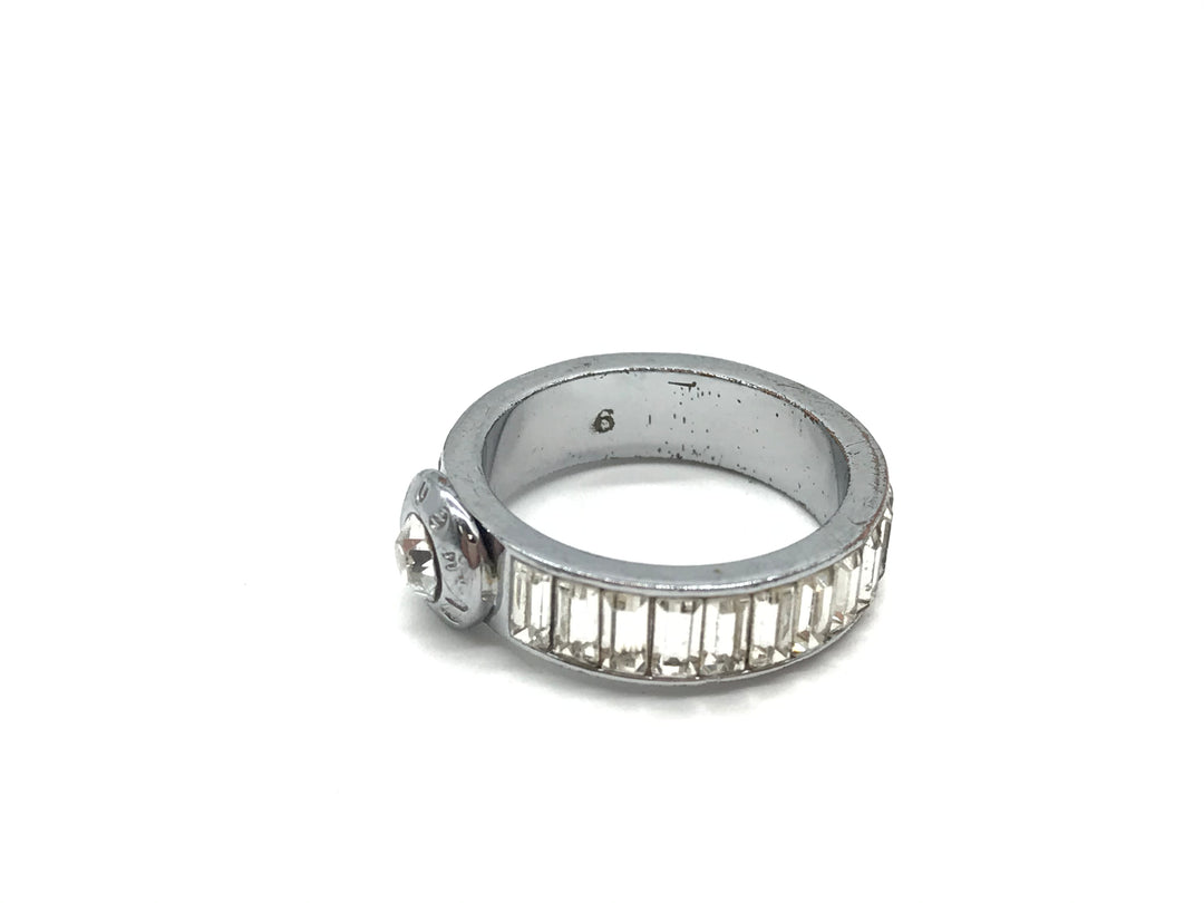 Photo #3 - BRAND: HENRI BENDEL <BR>STYLE: RING <BR>COLOR: SPARKLES <BR>SIZE: 6 <BR>SKU: 262-26275-68740<BR>GENTLE WEAR AND SCRATCHES - AS IS