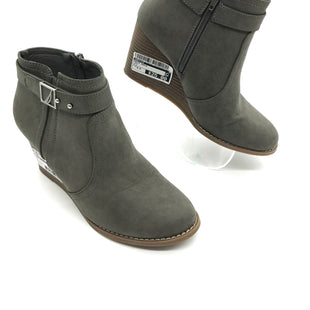 Primary Photo - BRAND: NAUTICA STYLE: BOOTS ANKLE COLOR: GREY SIZE: 8.5 SKU: 262-26241-41552IN GREAT SHAPE AND CONDITION