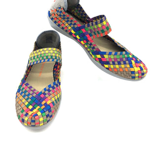 Primary Photo - BRAND: BERNIE MEV STYLE: SHOES FLATS COLOR: RAINBOW SIZE: 37 (US: APPROX. 6.5)SKU: 262-26241-46795