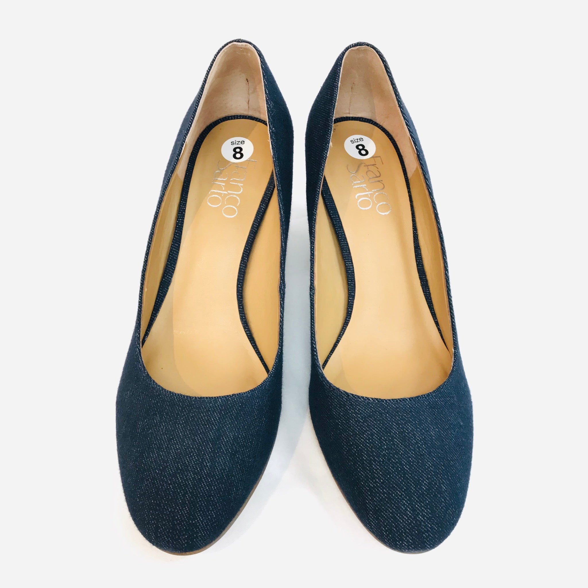 Primary Photo - BRAND: FRANCO SARTO <BR>STYLE: SHOES LOW<BR>COLOR: DENIM <BR>SIZE: 8 <BR>SKU: 262-26211-124511<BR>AS IS