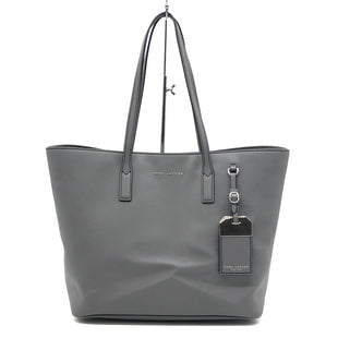 "Primary Photo - BRAND: MARC BY MARC JACOBS STYLE: HANDBAG DESIGNER COLOR: GREY SIZE: LARGE 11""H X 17""W X 6.5""WSKU: 262-26275-75197. SLIGHT CREASES • SMALL STAIN SPOTS • OVERALL IN GOOD SHAPE AND CONDITION • ."