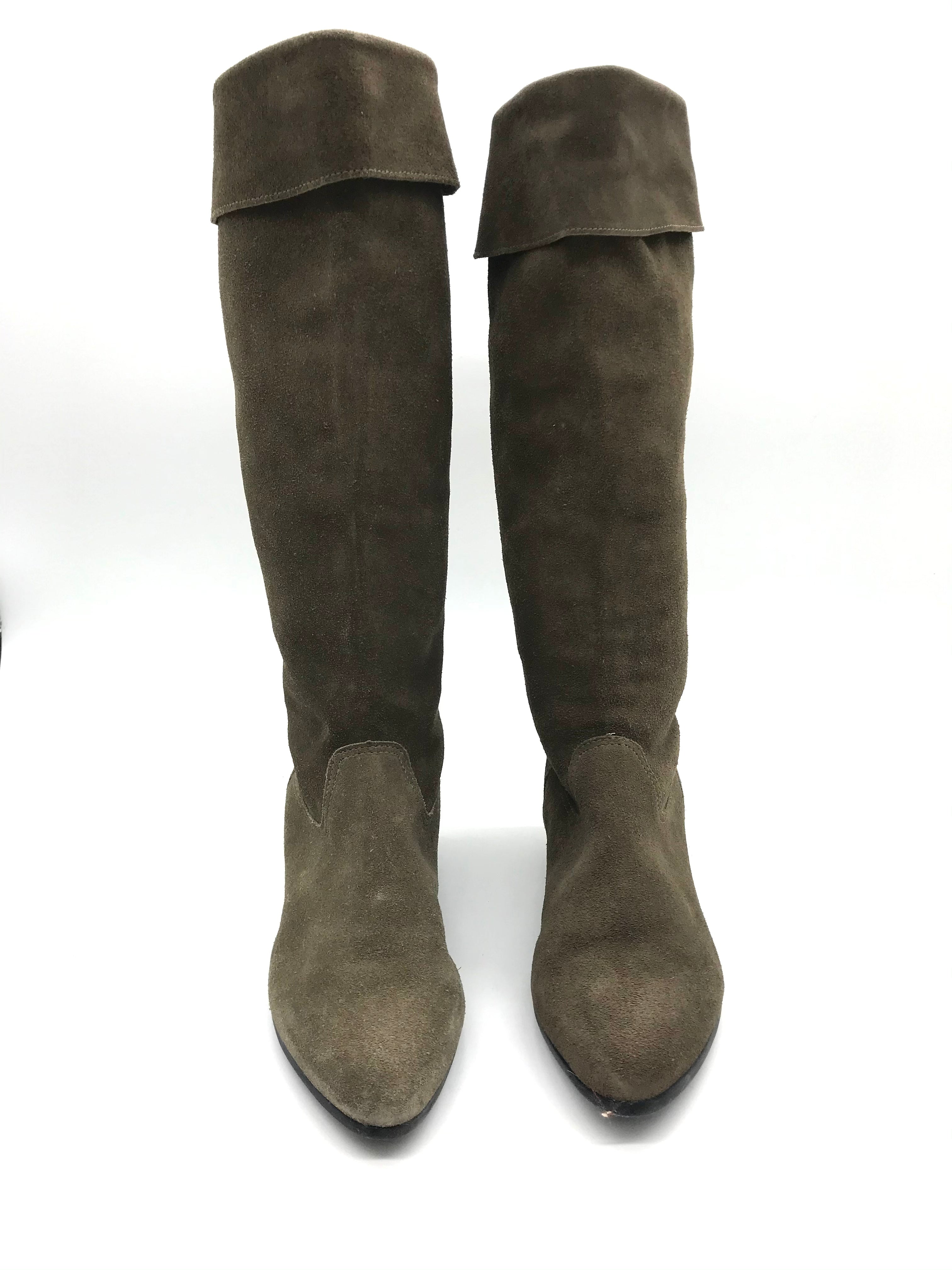 Photo #2 - BRAND: ALDO <BR>STYLE: BOOTS KNEE <BR>COLOR: TAN <BR>SIZE: 5 <BR>SKU: 262-26275-71909<BR><BR>MAY HAVE SOME SLIGHT SIGNS OF WEAR