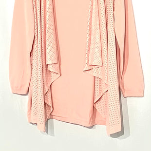 Primary Photo - BRAND: LIMITED STYLE: SWEATER CARDIGAN LIGHTWEIGHT COLOR: PINK SIZE: 1X SKU: 262-26211-140510