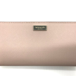 "Primary Photo - BRAND: KATE SPADE STYLE: WALLET COLOR: FLESH SIZE: MEDIUM SKU: 262-26241-42747COLOR MAY APPEAR MORE PINK TINTED IN PHOTOS WHERE ACTUAL COLOR IS MORE OF A TAN TINT. APPROX. 6.75""L X 3.5""H"
