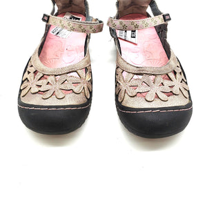 Primary Photo - BRAND:   JBUSTYLE: SANDALS FLAT COLOR: PINKBROWN SIZE: 6 SKU: 262-26275-57228AS IS