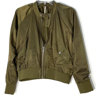 Primary Photo - BRAND: FREE PEOPLE STYLE: JACKET OUTDOOR COLOR: OLIVE SIZE: S SKU: 262-26211-144287