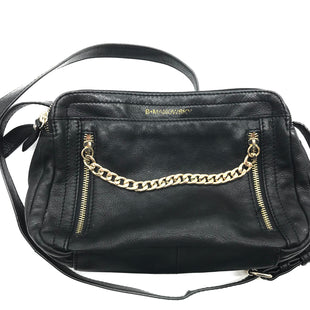 "Primary Photo - BRAND: B MAKOWSKY STYLE: HANDBAG COLOR: BLACK SIZE: SMALL SKU: 262-26275-66697APPROX. 10.25""L X 7""H X 3.5""D. PRICE DOES REFLECT GENTLE WEAR"
