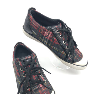 Primary Photo - BRAND: COACH STYLE: SHOES ATHLETIC COLOR: PLAID SIZE: 8.5 SKU: 262-26275-73614GENTLE WEAR - AS IS