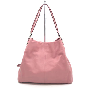 Primary Photo - BRAND: COACH STYLE: HANDBAG DESIGNER COLOR: LIGHT PINK SIZE: MEDIUM SKU: 262-26275-76643GENTLE WEAR ON THE EXTERIOR • SOME STAINS ON THE INTERIOR LINING •