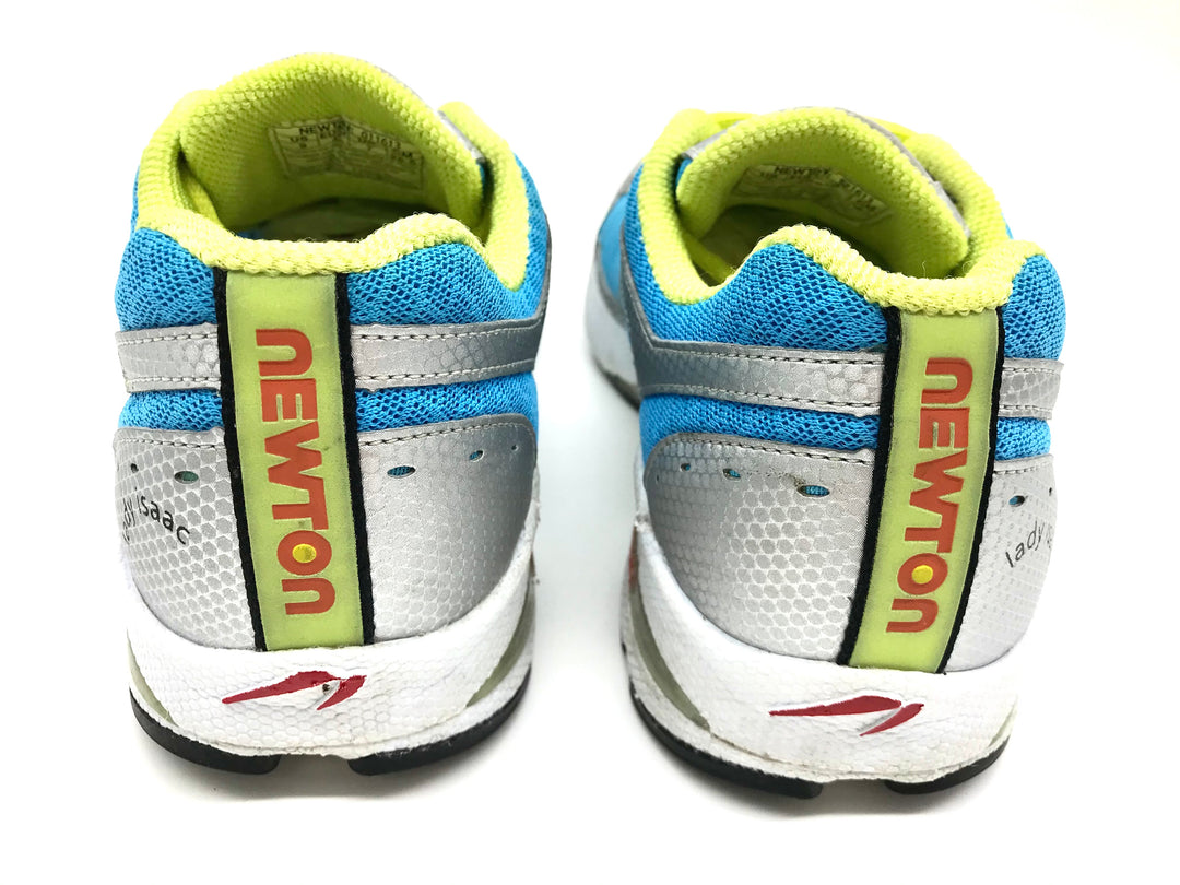 Photo #2 - BRAND:  NEWTON<BR>STYLE: SHOES ATHLETIC <BR>COLOR: BLUE YELLOW <BR>SIZE: 9 <BR>SKU: 262-26275-71113<BR>GENTLE WEAR - AS IS
