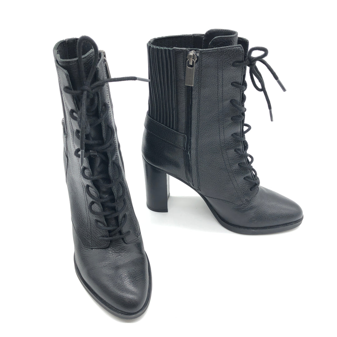 Primary Photo - BRAND: MICHAEL KORS <BR>STYLE: BOOTS ANKLE <BR>COLOR: BLACK <BR>SIZE: 7 <BR>SKU: 262-262101-2051<BR>IN GOOD SHAPE AND CONDITION