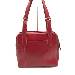 "Primary Photo - BRAND:    CLOTHES MENTOR STYLE: HANDBAG COLOR: RED SIZE: SMALL OTHER INFO: RADLEY - SKU: 262-26241-45436AS IS SLIGHT WEAR, MARKS AND SCRATCHES (SEE PHOTOS) APPROX 13""X9.5""X4""HANDLE DROP APPROX 10"""