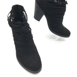 Primary Photo - BRAND: FERGALICIOUS STYLE: BOOTS ANKLE COLOR: BLACK SIZE: 9 SKU: 262-26211-135178TINY SCRATCH ON ONE SIDE • AS IS