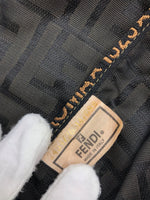 "Handbag Designer By Fendi  Size: Large - BRAND: FENDI <BR>STYLE: HANDBAG DESIGNER <BR>COLOR: MONOGRAM <BR>SIZE: LARGE (APPROX 8.5""W X 18.5""L X 14""H)<BR>SHOULDER DROP: 12""<BR>SKU: 262-26275-65304<BR>LOSS SNAGS IN THE INTERIOR. OVER ALL THE BAG IS IN GOOD SHAPE AND CONDITION.<BR>"