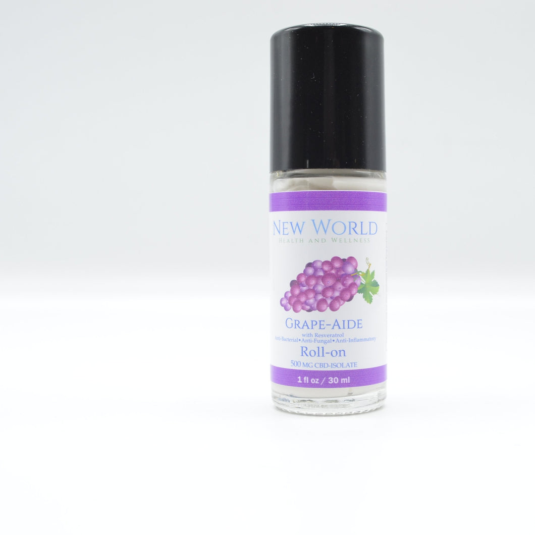 Grape-Aide 500mg CBD Roll-on