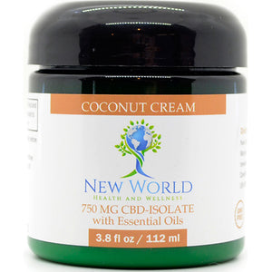 Coconut Cream 750mg CBD