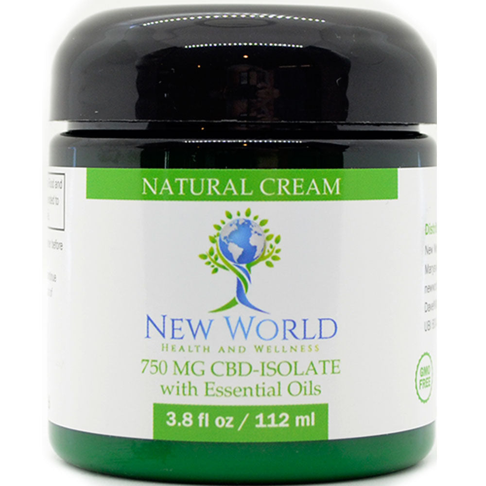 Natural Cream 750mg CBD