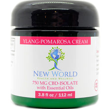 Load image into Gallery viewer, Ylang-Palmarosa Cream 750mg CBD