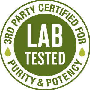 3rd party lab tested for potency and purity