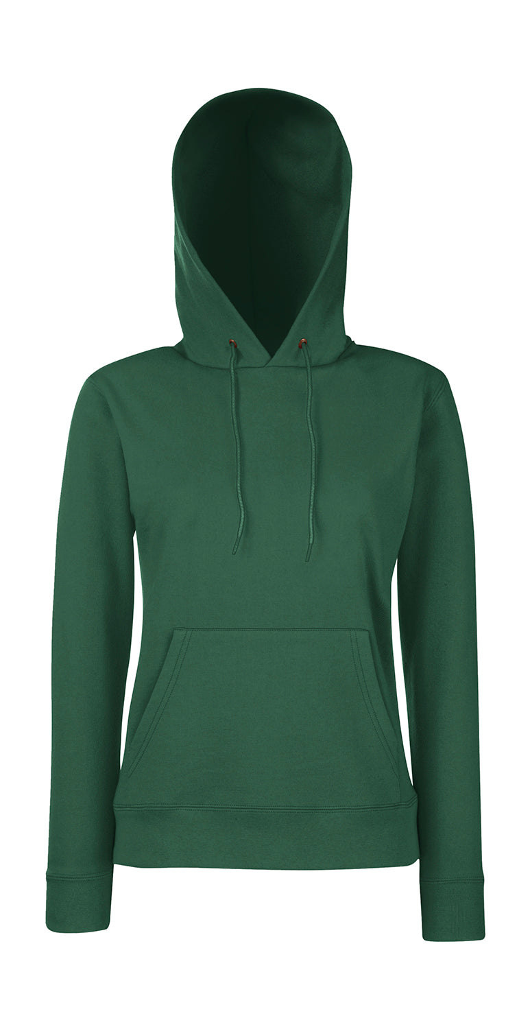 Damen Hooded Sweat FoL, Bottle Green - Kant Grundschule