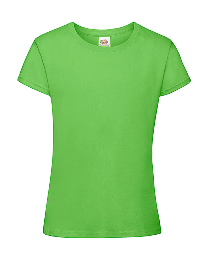 T-Shirt Girls, Lime Green - Berlin International School