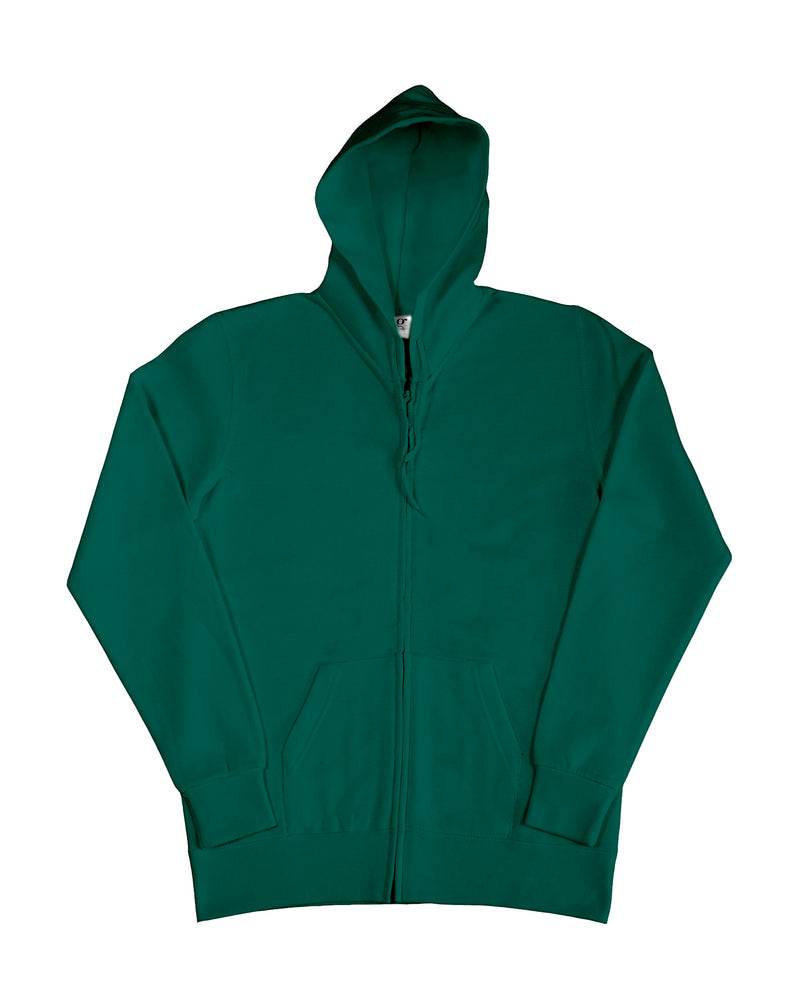 Ladies Hooded Zip Sweat SG, Bottle Green - Kant Grundschule