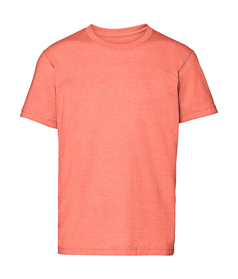 Boys T-Shirt, Coral Marl - Kant Grundschule