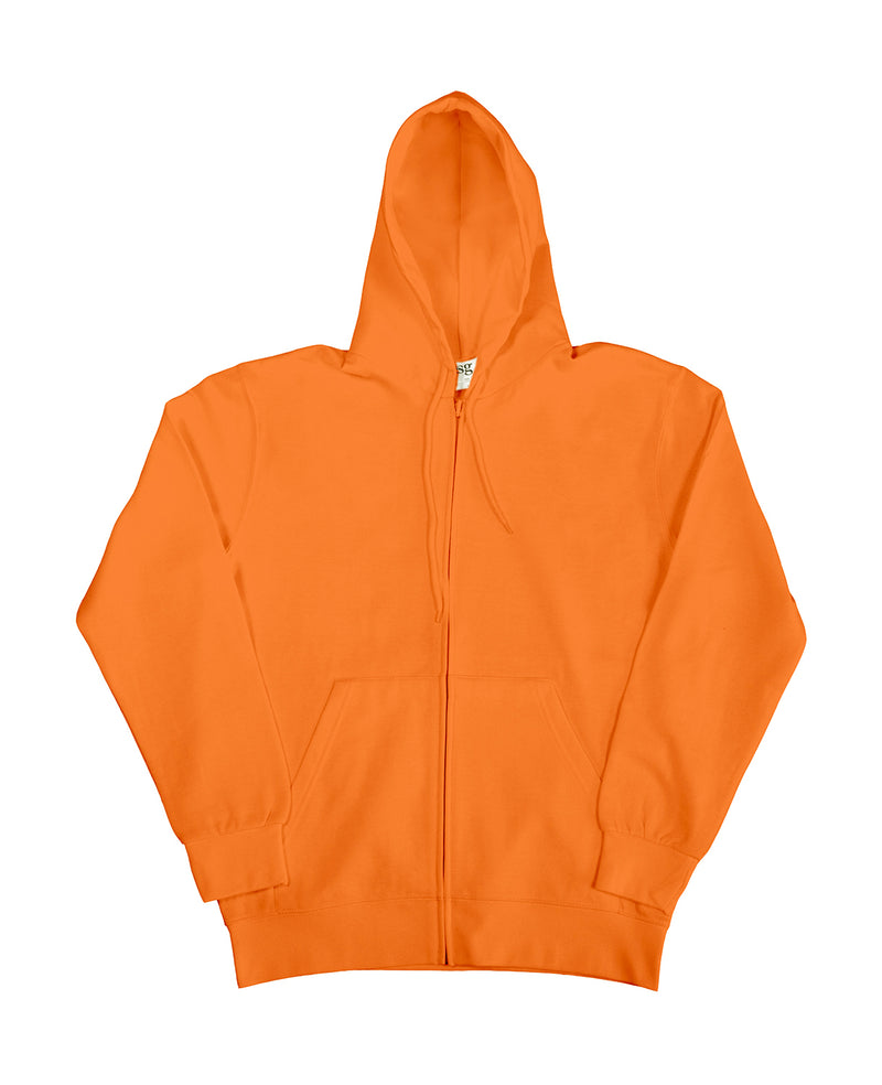 Hooded Zip Sweat SG, Bright Orange - Kant Grundschule