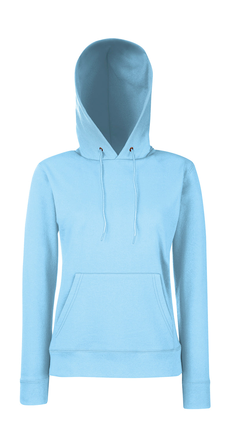 Damen Hooded Sweat FoL, Sky Blue - Internationale Schule Berlin