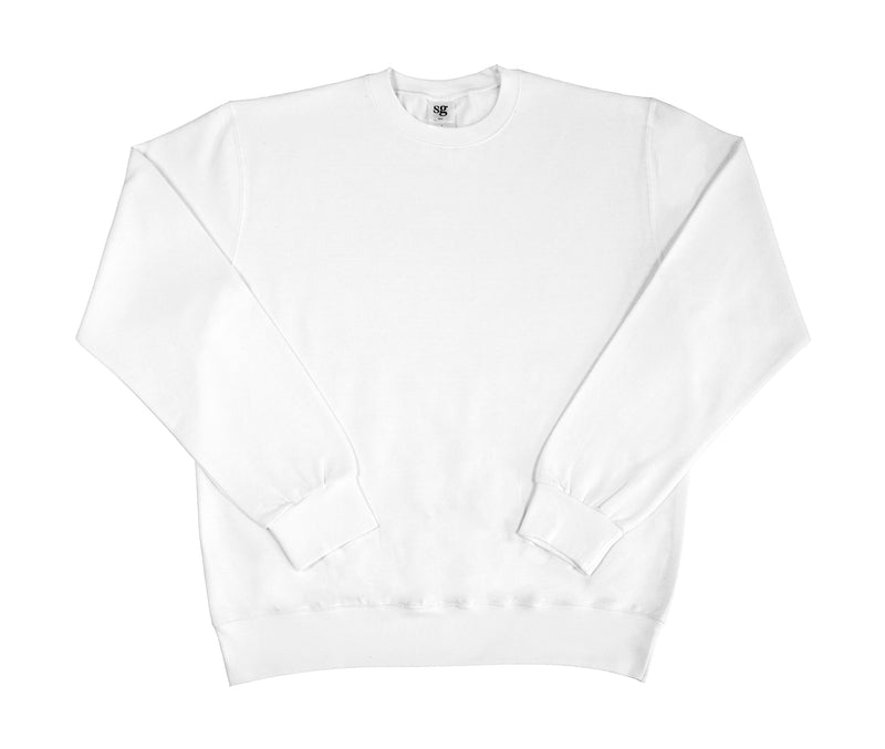 Herren Sweat Shirt SG, White - Kant Oberschule