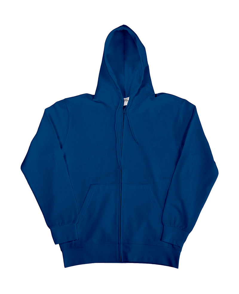 Hooded Zip Sweat SG, Navy - Kita International