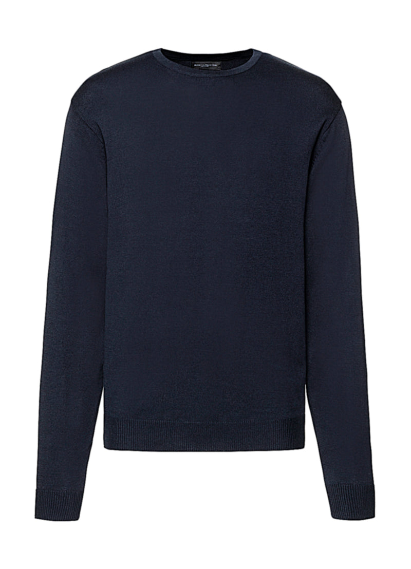 Men Pullover, French Navy - Berlin International School