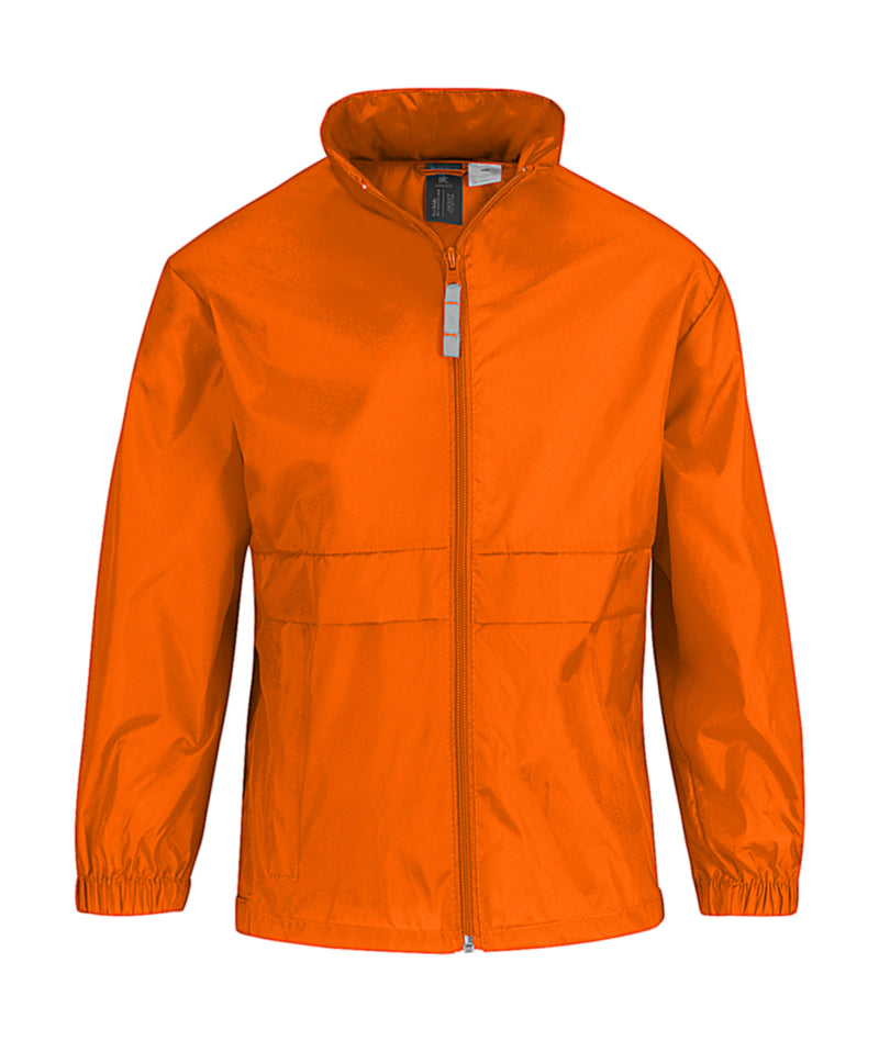 Kids Windbreaker, Orange - Kant Grundschule