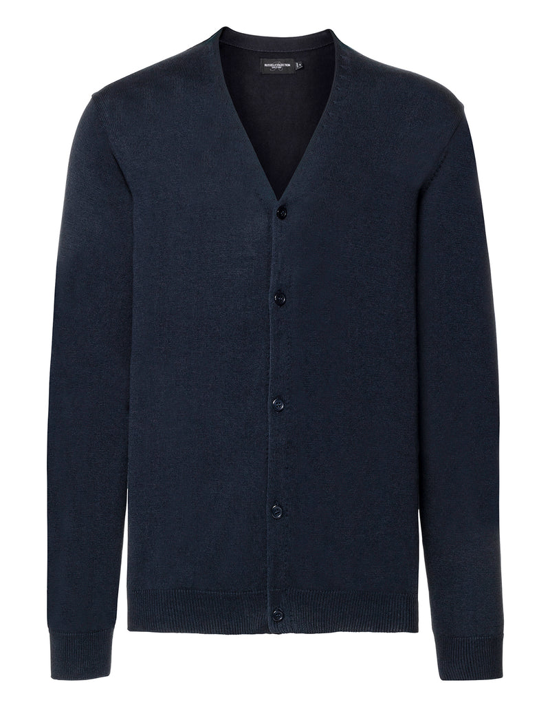 Men Cardigan, French Navy - Kant Oberschule