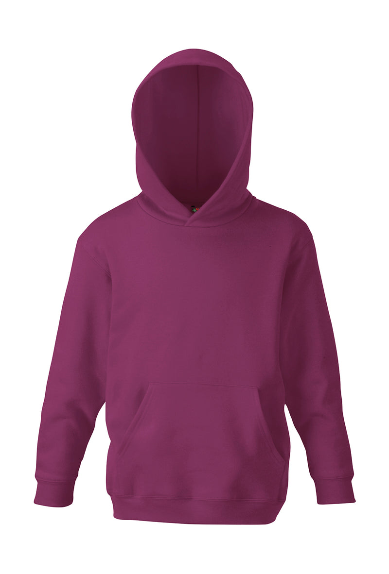 Kids Hooded Sweatshirt FoL, Burgundy - Kant Oberschule
