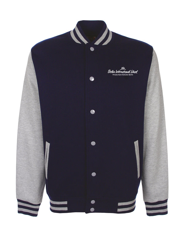 Collegejacke Kids - navy/grey