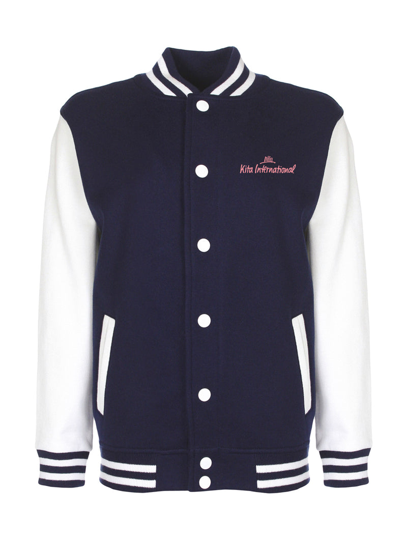 Collegejacket Kids - navy/white