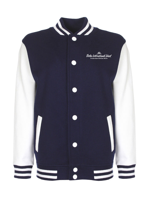 Collegejacke Adults - navy/white