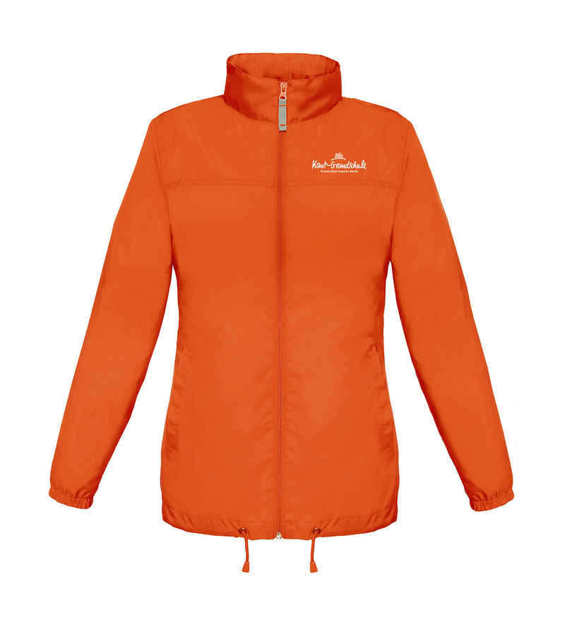 Windbreaker Damen - orange