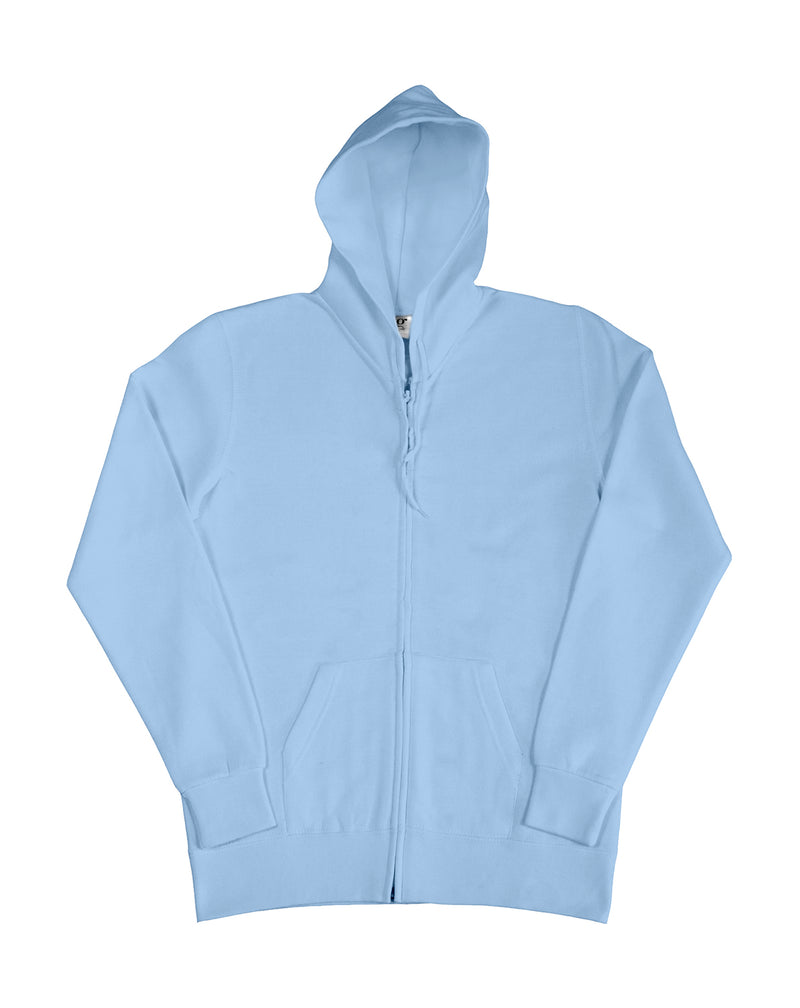 Ladies Hooded Zip Sweat SG, Sky - Internationale Schule Berlin