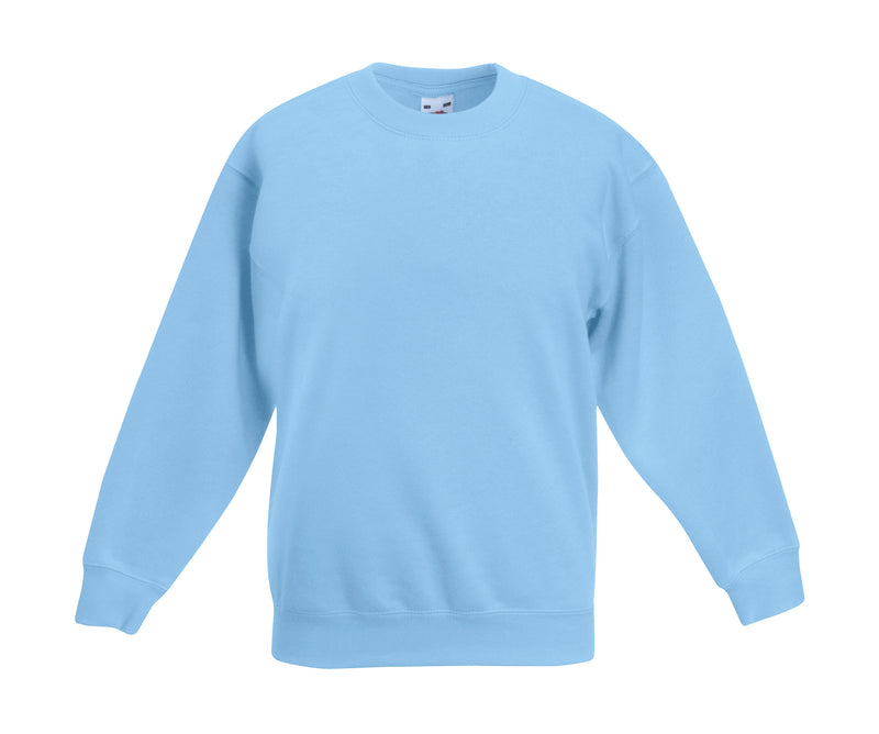 Premium Set-In Sweat Kids, Sky Blue - Internationale Schule Berlin